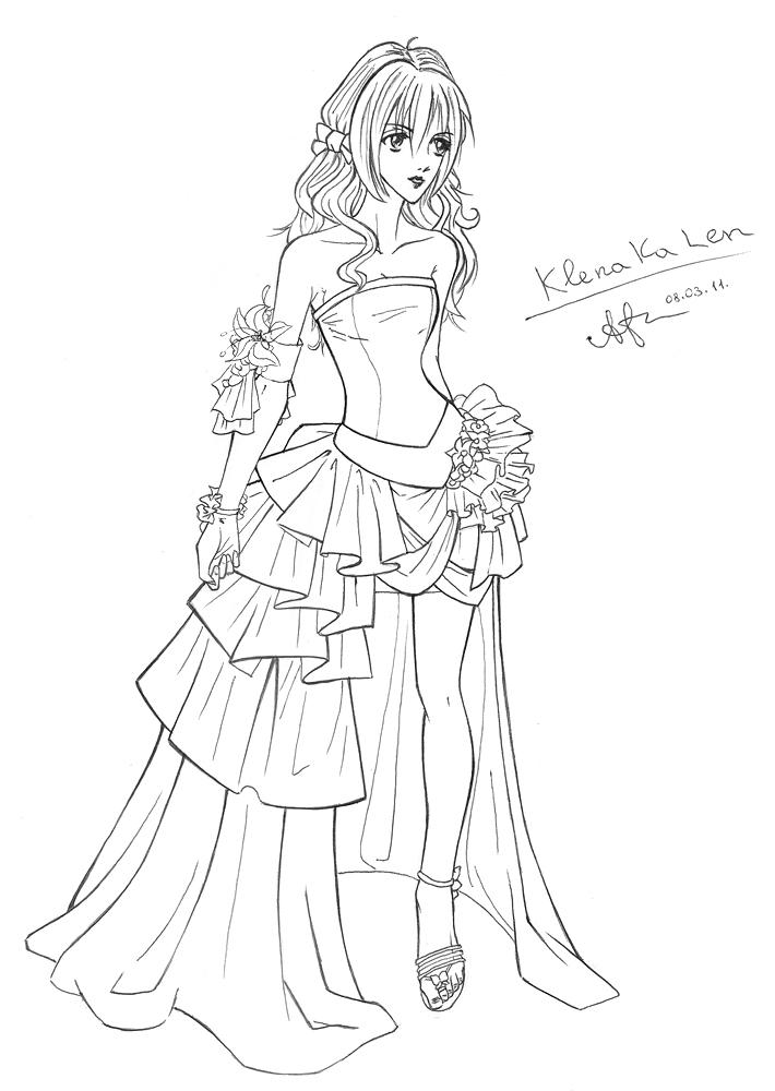 платье мамы невесты